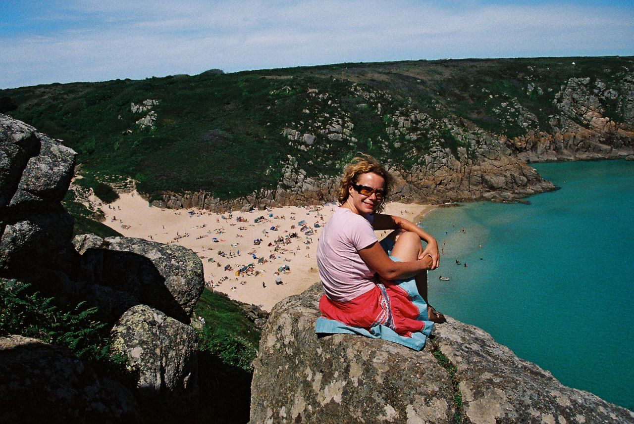 Mindy at The Minack above Porthcurno