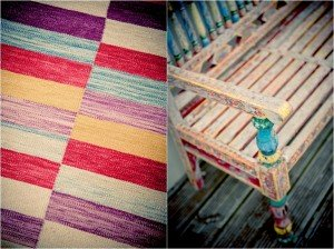 Rug. Chair.  Myn Tea