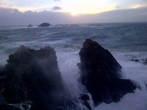 Stormy day at Priest's Cove