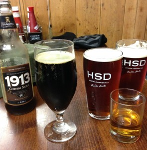 The reward. HSD and 1913. Worth a wild walk.