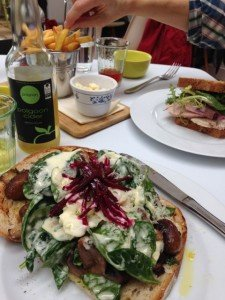 Lunch at Tremenheere