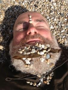 Winter beard, Porthleven.