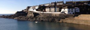 Across the harbour to The Ship, Porthleven.