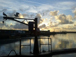 St Piran's Dawn at Newlyn (borrowed from Dick Straughan)