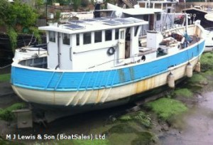 1953 trawler for sale.