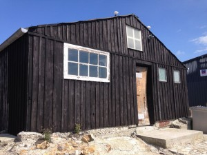 Pitch boat house. Camaret.