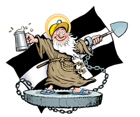 St Piran - bewdie!