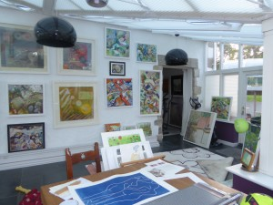 Rachel Jefferies' studio