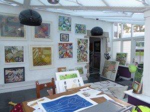 Rachel Jefferies' studio