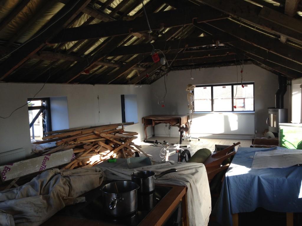 Archavon - upstairs gutted