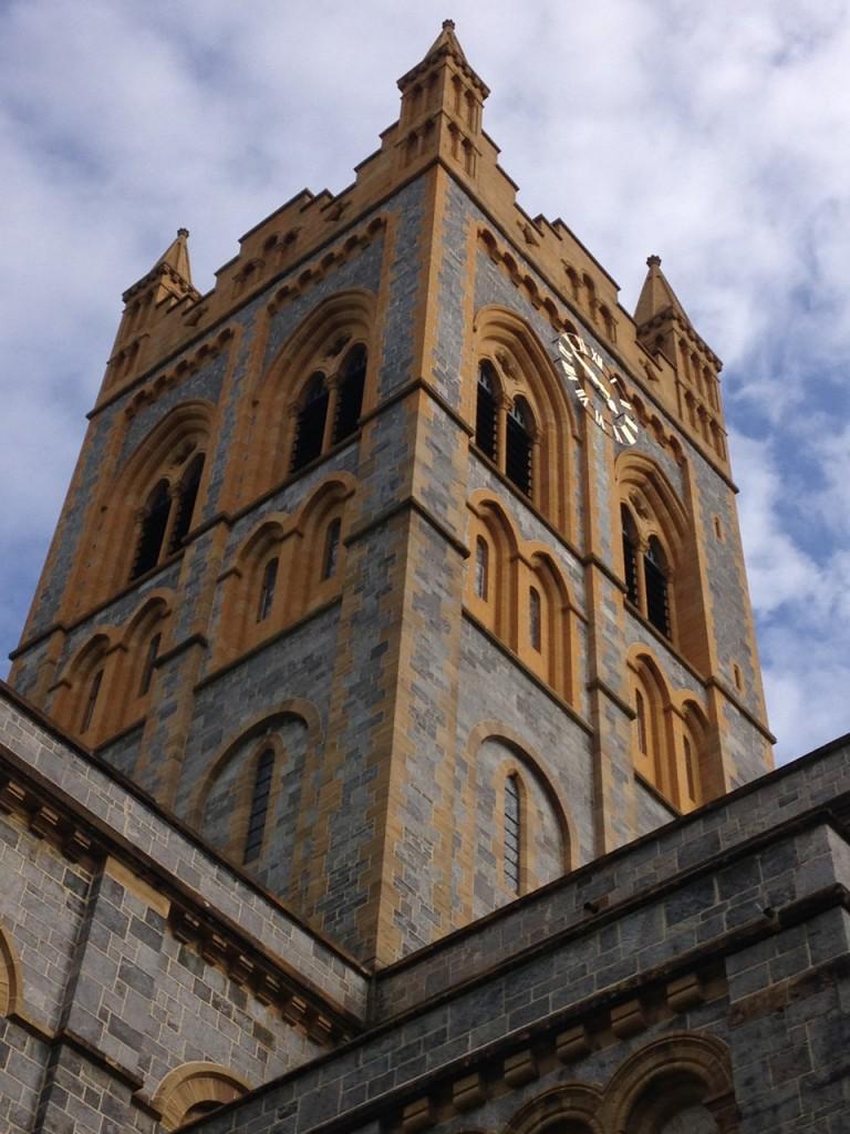 The modern(ish) Buckfast Abbey.