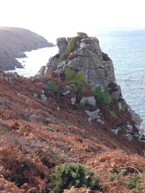 Cliffs on the return towards Morvah