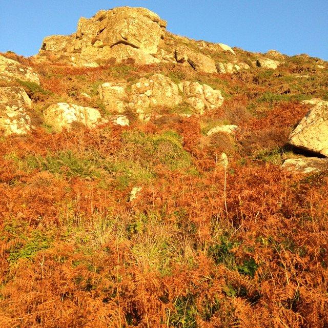 Cliffs near Cot Valley