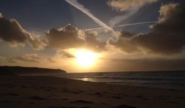 November on Gwenver Beach