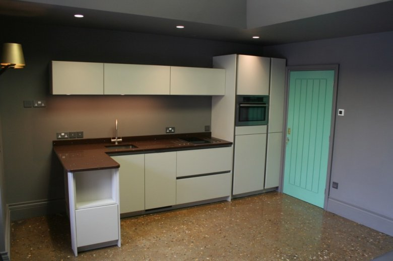 Kitchen, and look at the floor.