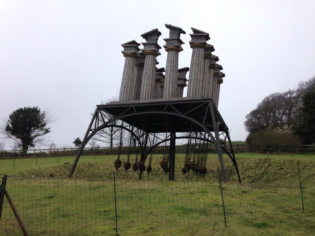 Restless Temple at Tremenheere Sculpture Gardens.