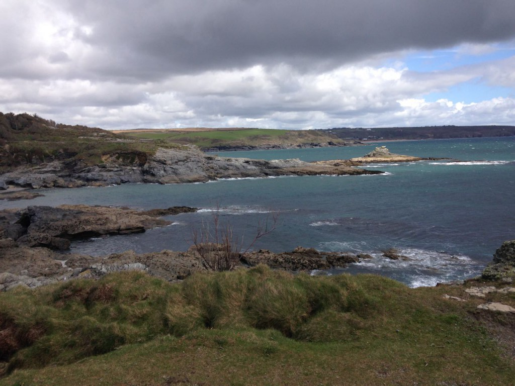 Across Piskie's to Prussia Cove.