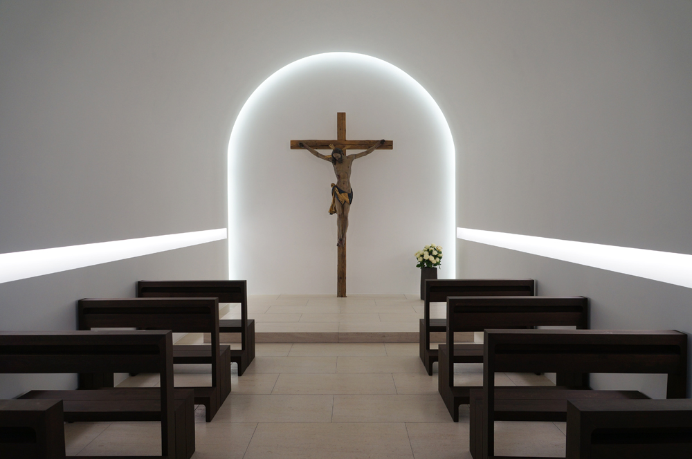 St Moritz Church Augsburg by John Pawson, borrowed from detail-online.com