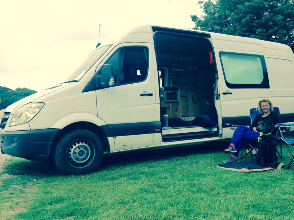 Constance - the Mercedes Sprinter cottage on wheels.