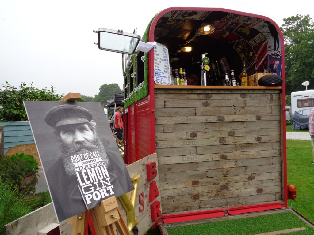 The pop up bar at The Meadows.