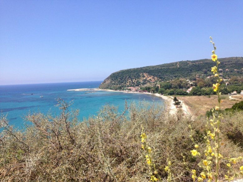 Katelios, where we stayed this time.