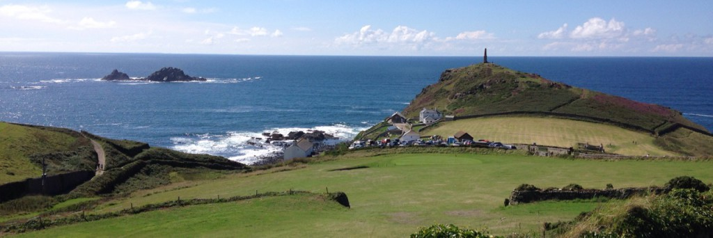 Cape Cornwall, from the clubhouse.