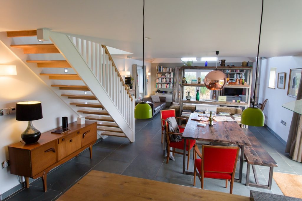 15 metre living space with room for everyone's private space, while remaining sociable too.