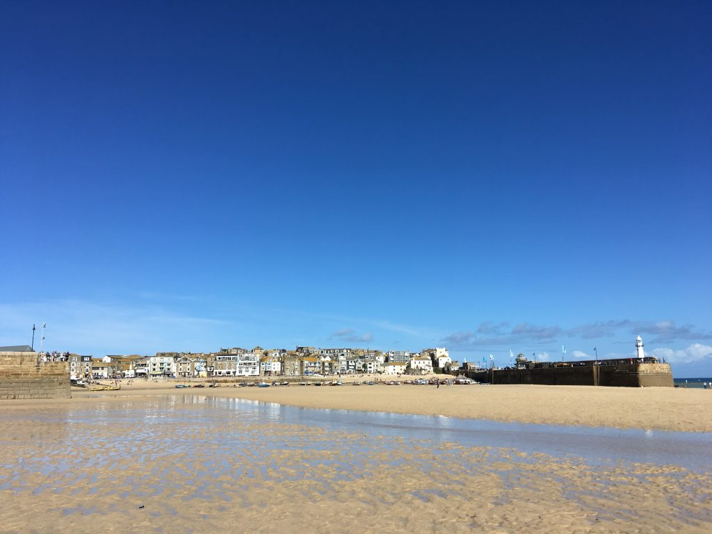 St Ives on the last day of September 2016.