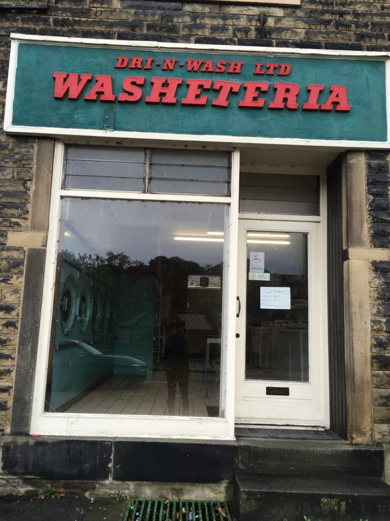 The laundrette - who doesn't love a laundrette?