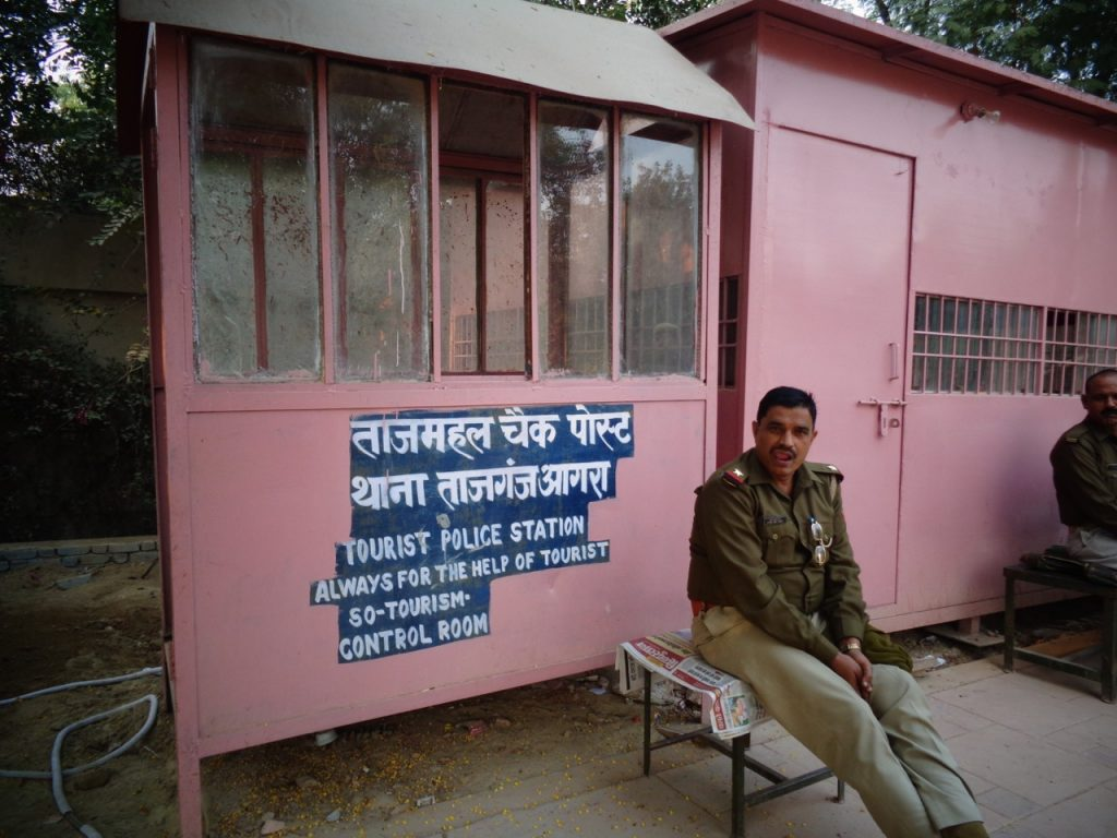 In India read signs - you'll love them!