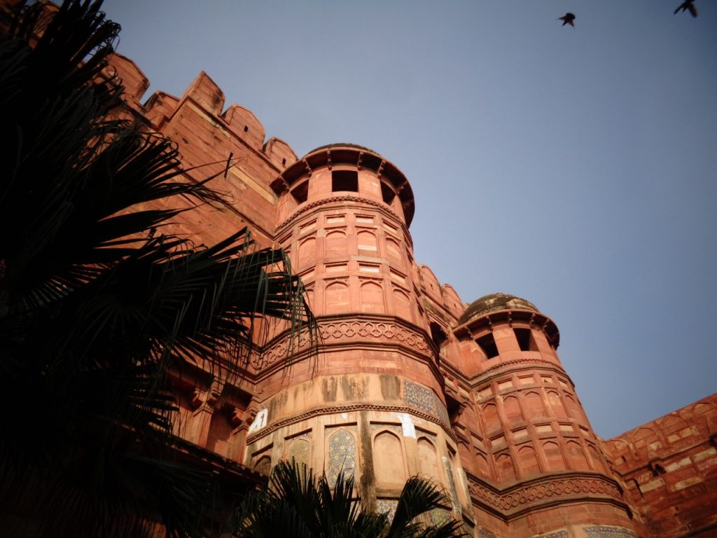 Agra's Red Fort.