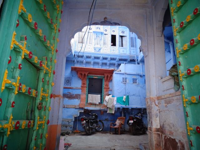 The Blue City - Jodhpur.