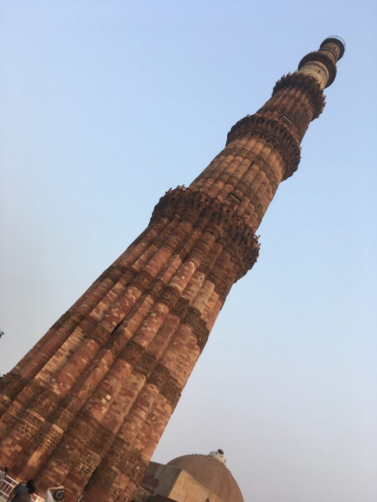 The minaret - looking seriously good for its age.
