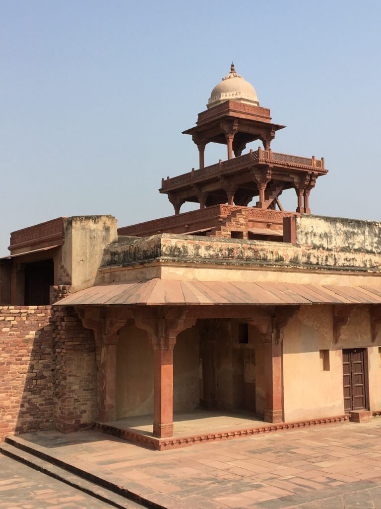 A fraction of the Fatekpur Sikri.