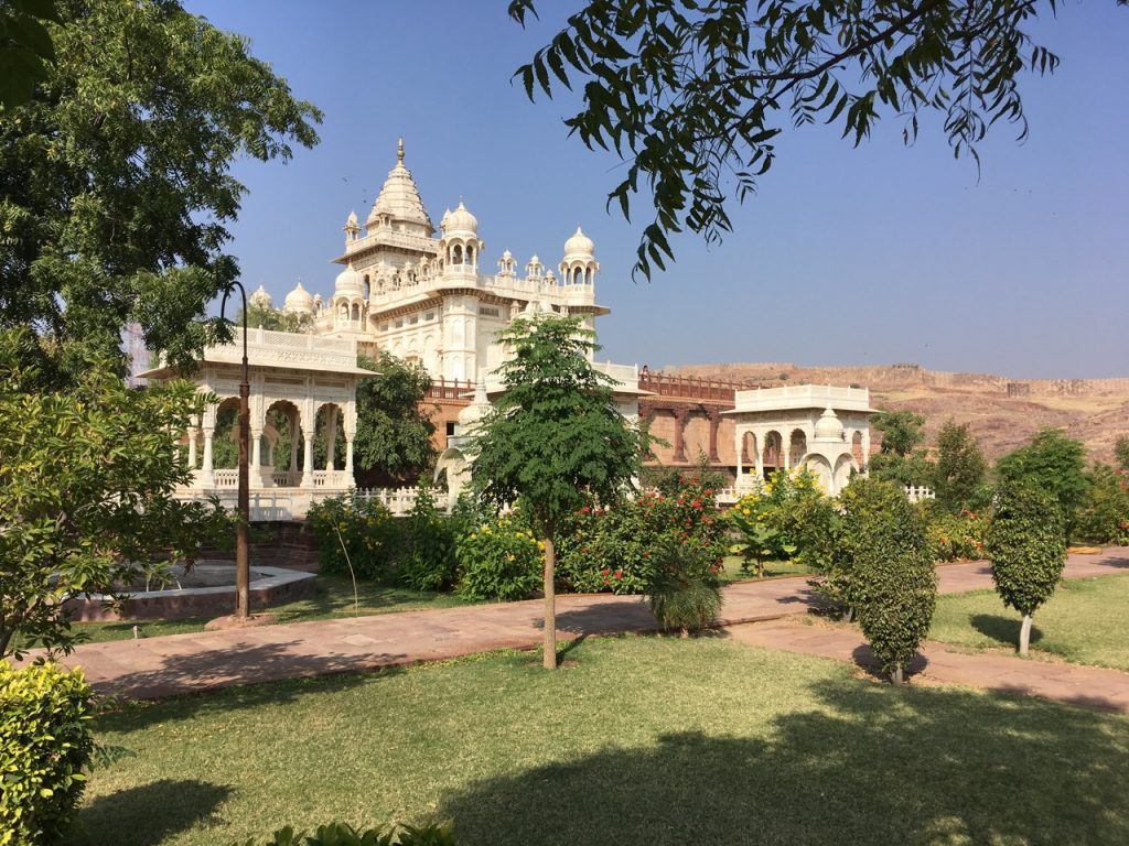 The Royal Cremation site. Jodhpur.