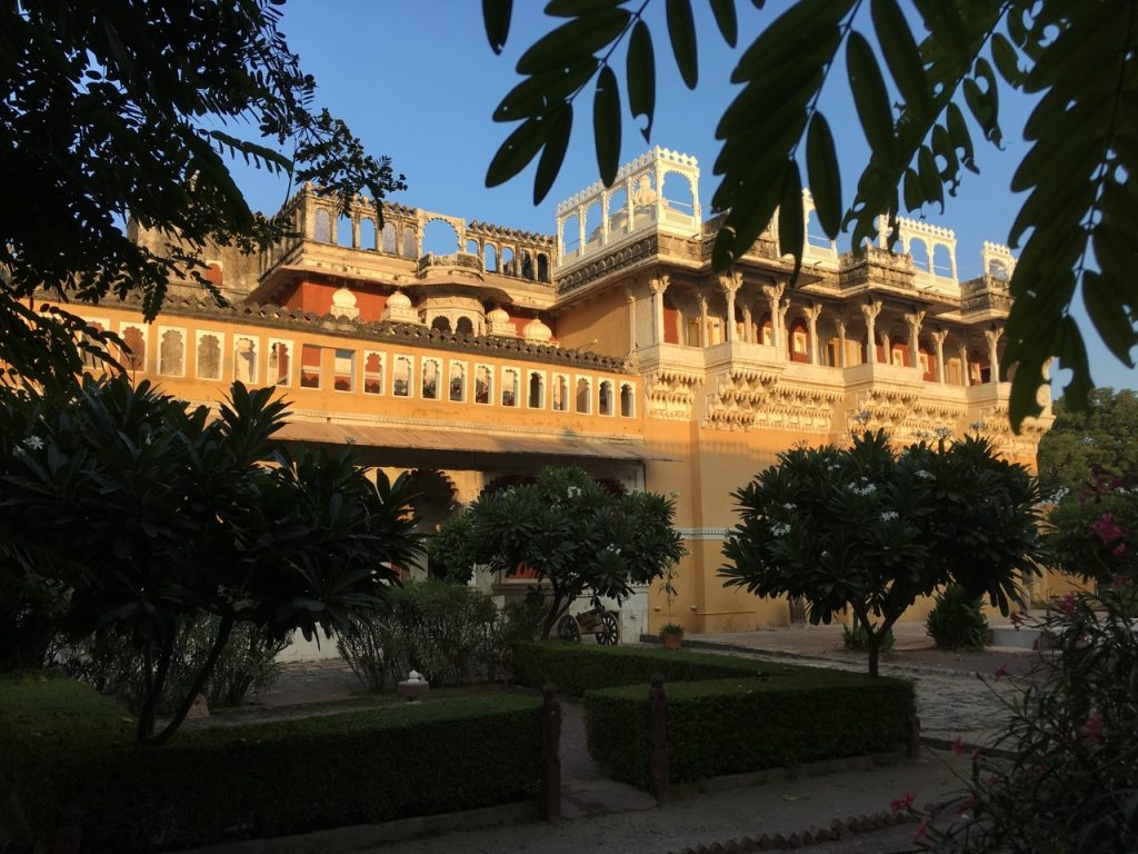 Chanoud Garh, and the best welcome and hospitality we received. Wonderful.