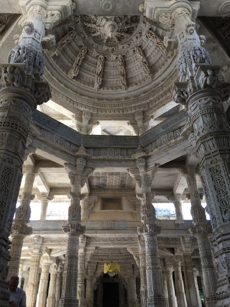 The Jain Temple at Ranakpur.