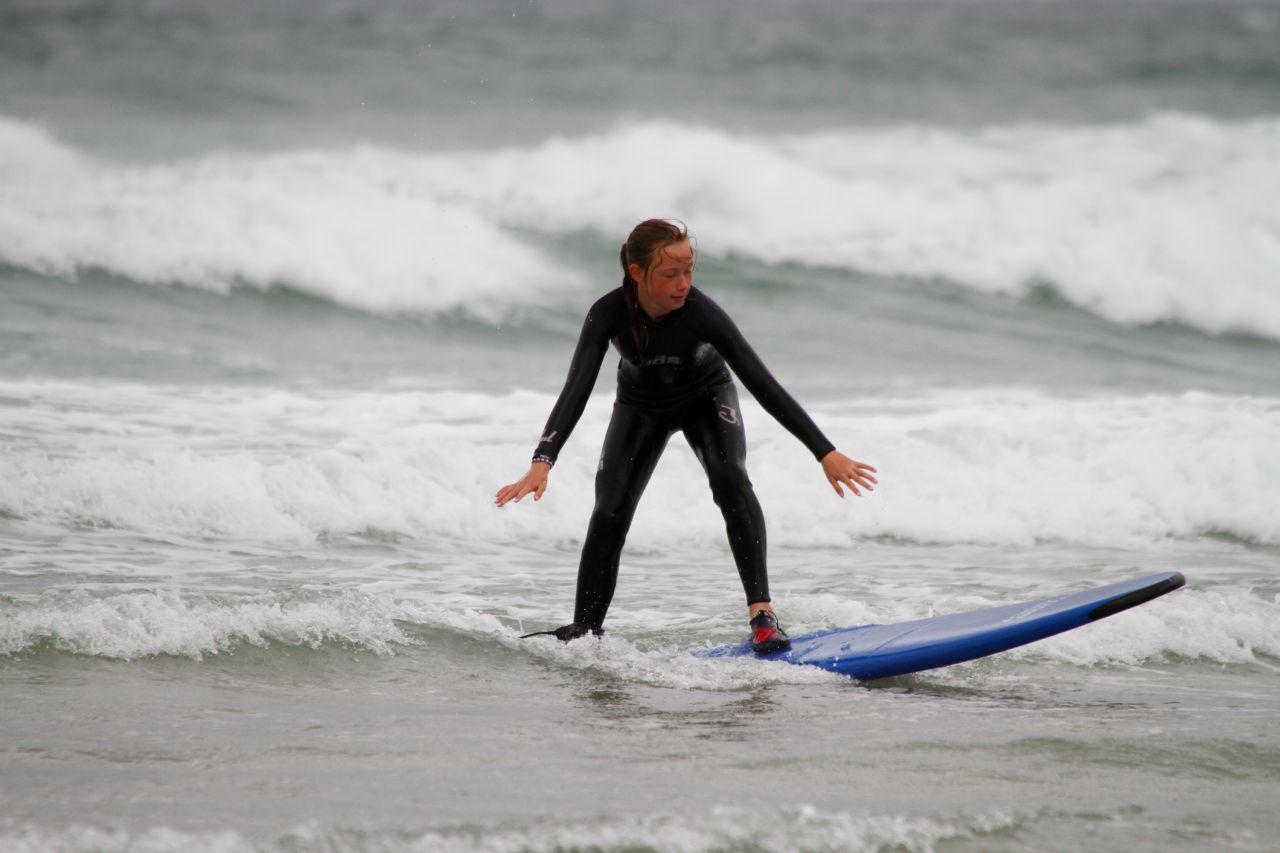 Praa Sands Surfing, The Cornish Way