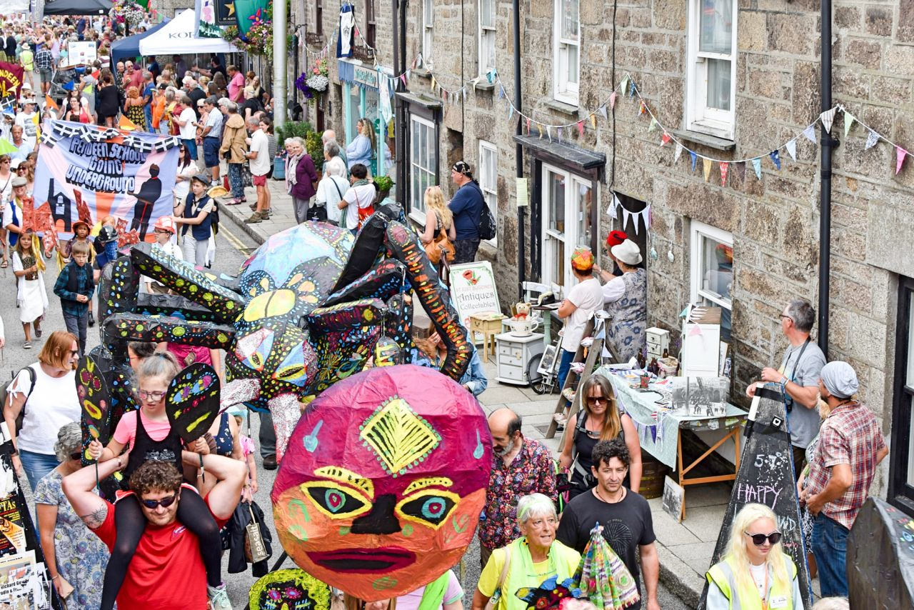 The Cornish Way Lafrowda Day St Just Lafrowda Festival