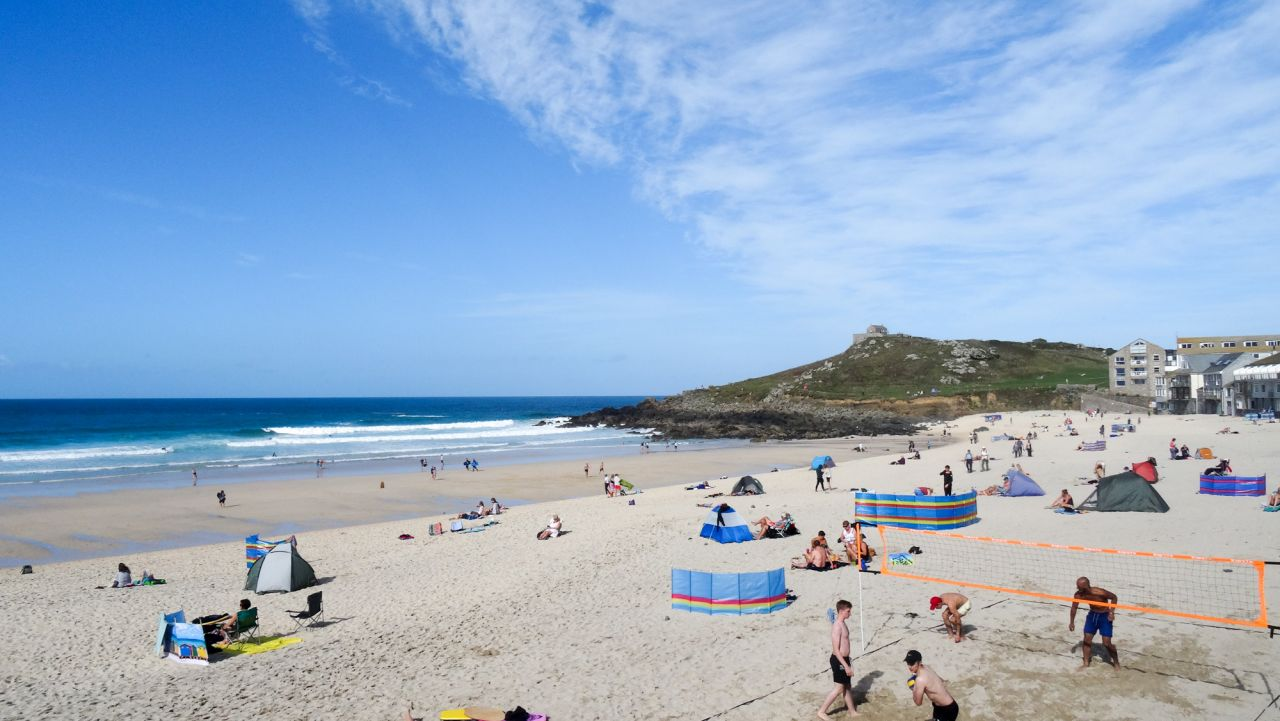 Porthmeor Surfing, The Cornish Way