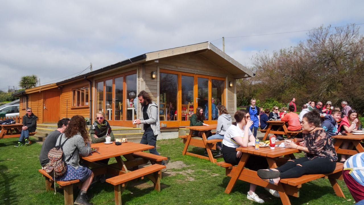 The Cabin, Perranuthnoe, Cosy Cafes The Cornish Way